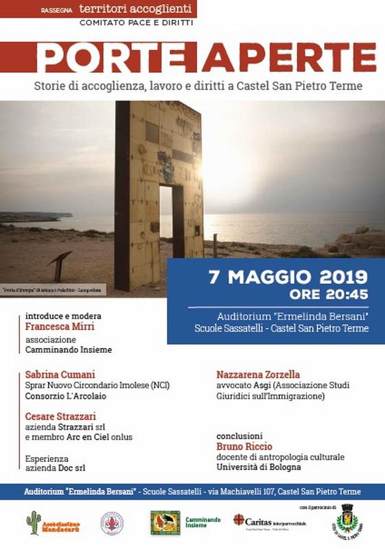 Porte Aperte - Storie di accoglienza, lavoro e diritti a Castel San Pietro Terme