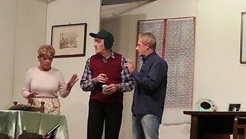 """Alla Bocciofila di Osteria Grande commedia dialettale """"I Rimpatriè"""""""