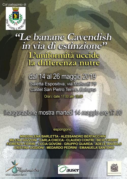 """Mostra collettiva """"Le banane Cavendish in via di estinzione"""""""