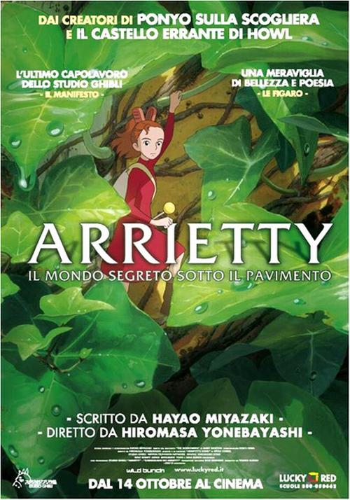 """domenica 7 a Osteria Grande """"Arrietty"""""""
