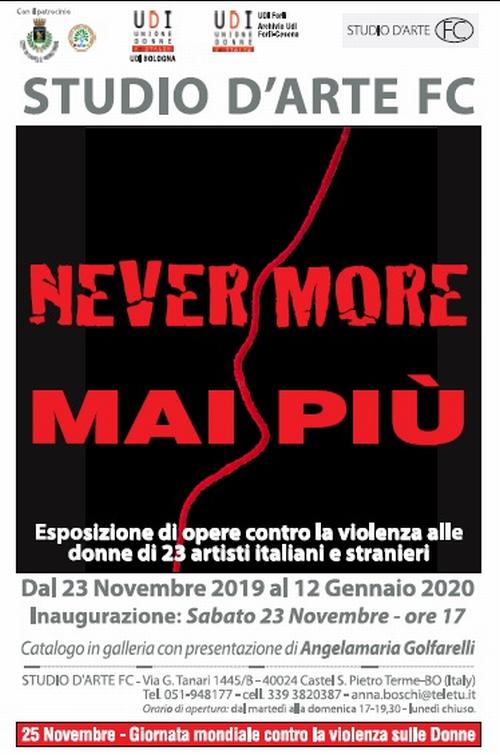 Anna Boschi presenta installazione e mostra contro la violenza alle donne