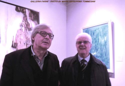 Le opere di Corrado Avanzi apprezzate alla Galleria Farini di Bologna