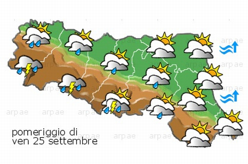 Allerta Meteo della Regione Emilia-Romagna...